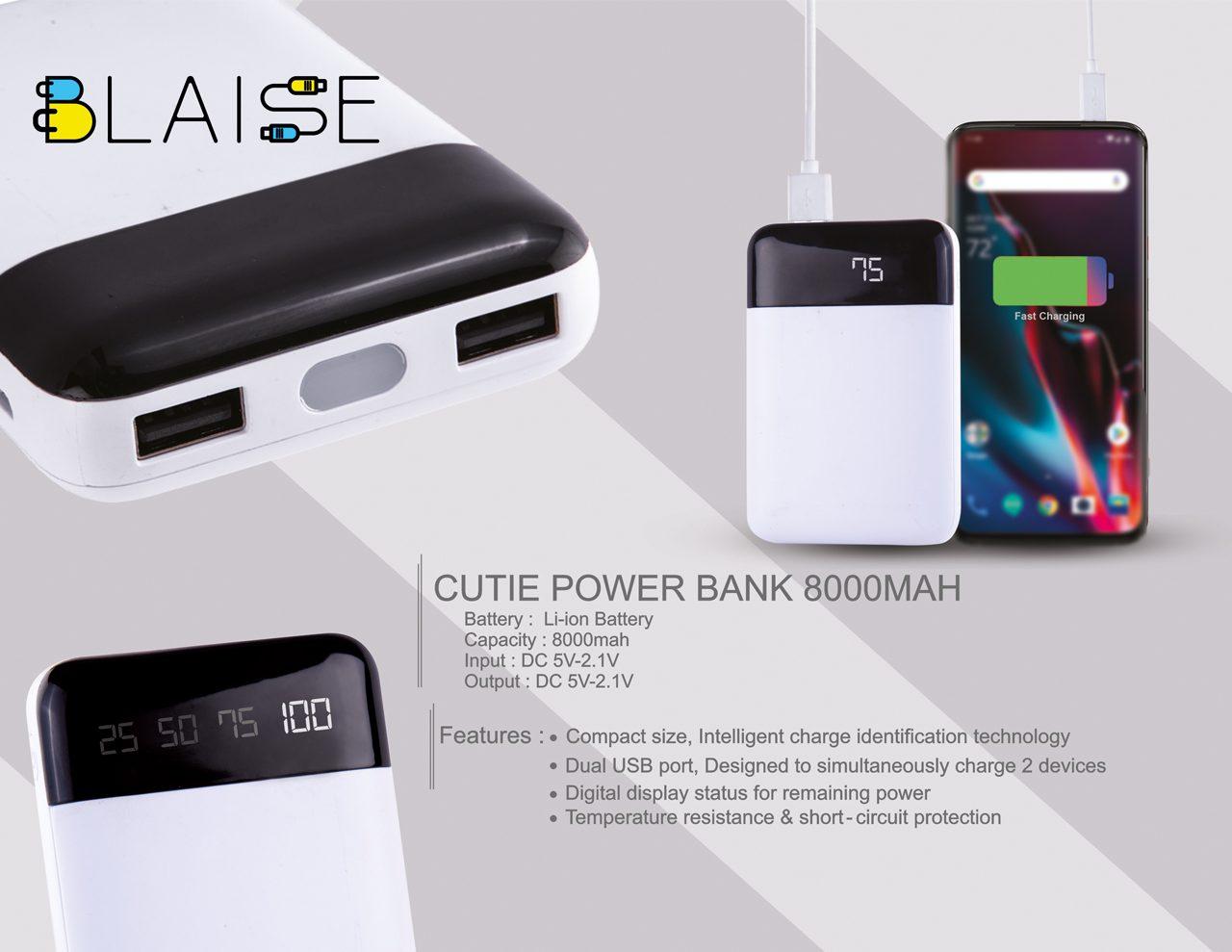 Cutie Power Bank 8000MAH