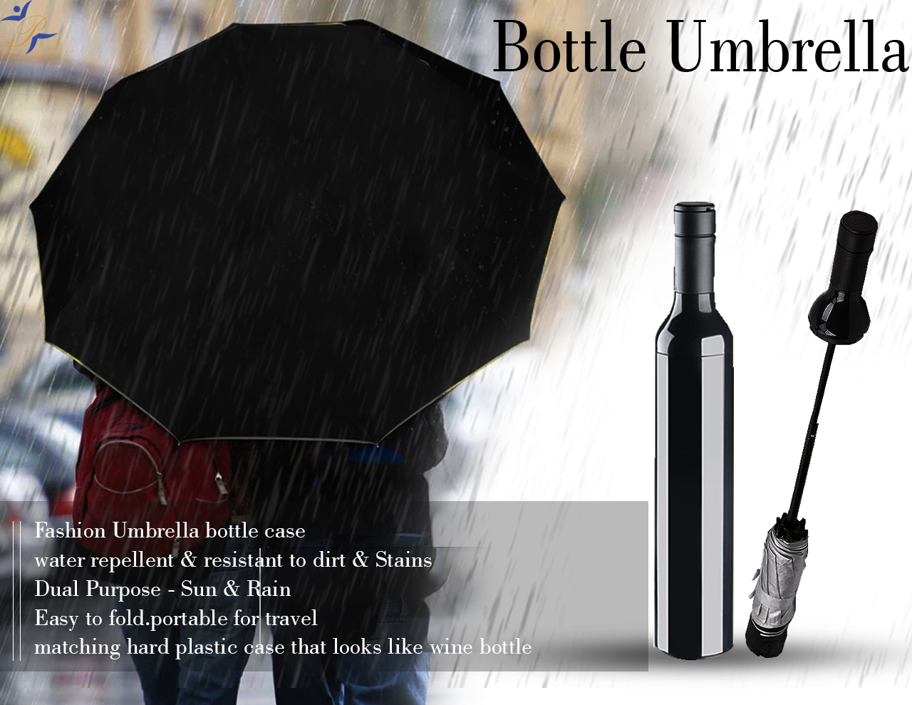 bottle umbrella
